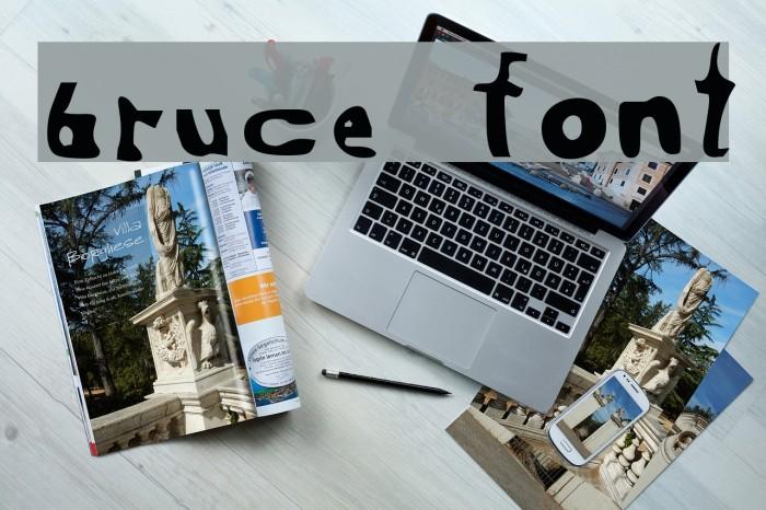 Bruce لخطوط تنزيل examples