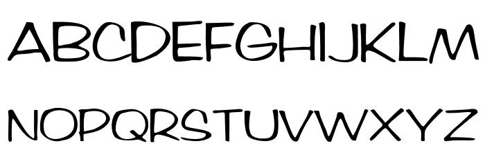 BrushArt Font UPPERCASE