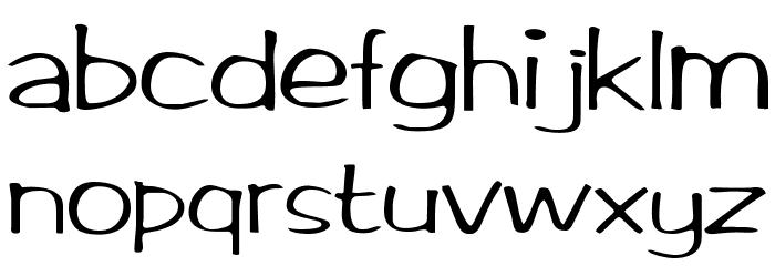 BrushArt Font LOWERCASE