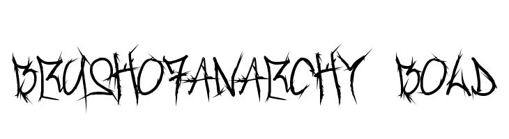 Brush_Of_Anarchy Bold  フリーフォントのダウンロード
