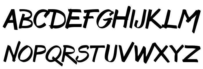 Bruss Font Litere mari