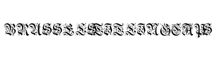 BrusselsTitlingCaps  font caratteri gratis