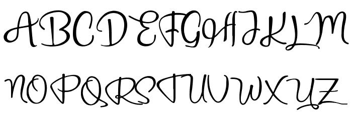bridgetown 字体 大写