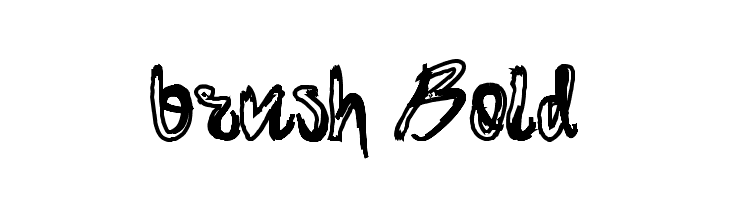 brush-Bold Шрифта