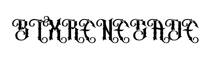 BTX RENEGADE  Free Fonts Download
