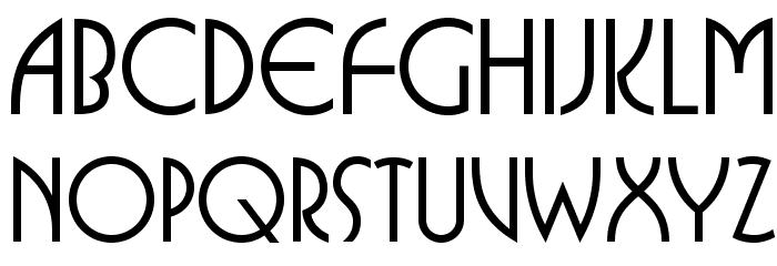 BUFferOpti-Medium फ़ॉन्ट अपरकेस
