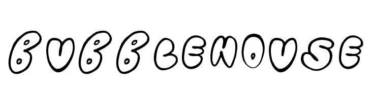 Bubblehouse  Скачать бесплатные шрифты