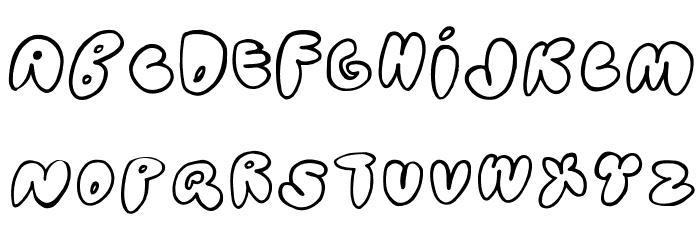 Bubblehouse Font UPPERCASE