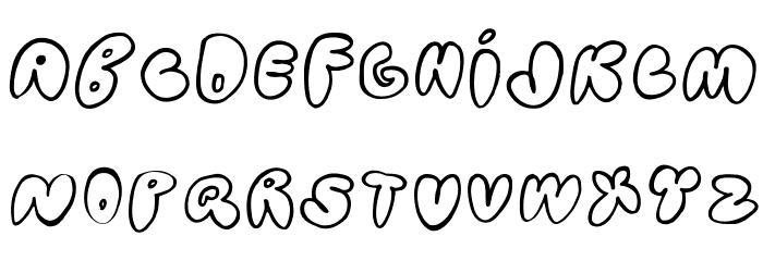 Bubblehouse Font LOWERCASE