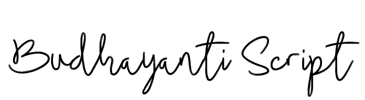 Budhayanti Script  नि: शुल्क फ़ॉन्ट्स डाउनलोड