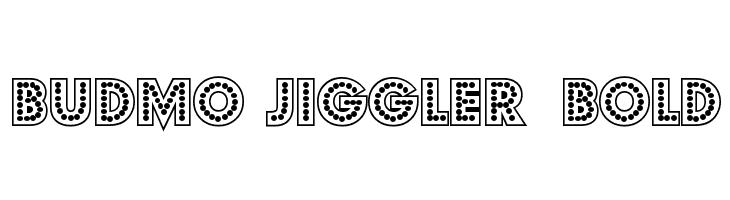 Budmo Jiggler  Bold  baixar fontes gratis
