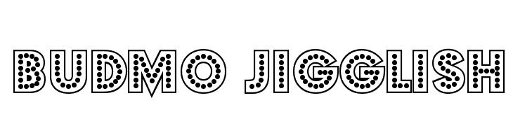 Budmo Jigglish  لخطوط تنزيل