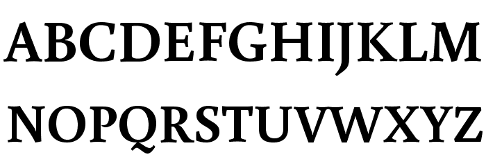 Buenard Bold Font UPPERCASE
