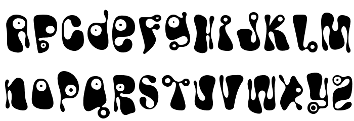 Bughouse Font UPPERCASE