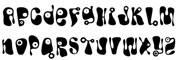 Bughouse Font LOWERCASE