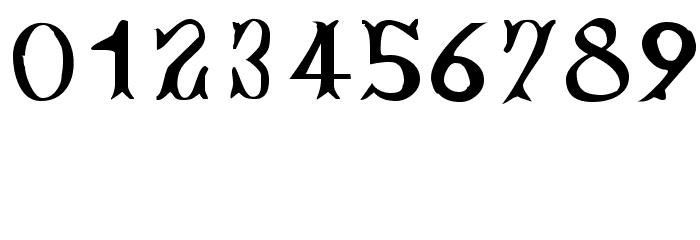 Bujardet Freres [Unregistered] Font OTHER CHARS