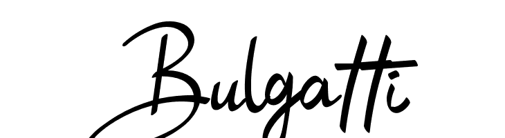 Bulgatti  Free Fonts Download