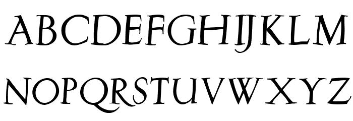 Burklein-Oblique Font UPPERCASE