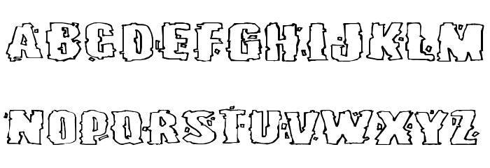 Burlesque Font LOWERCASE
