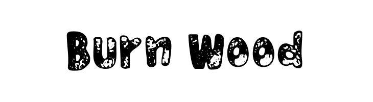Burn Wood  Free Fonts Download