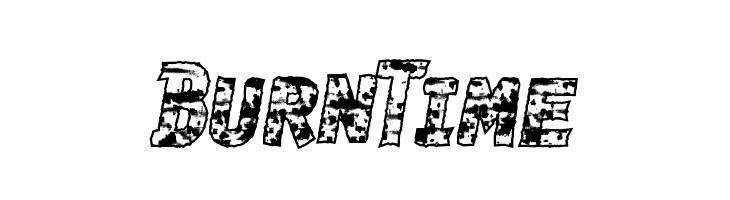 BurnTime  les polices de caractères gratuit télécharger