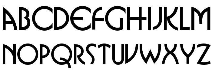 Busorama Font LOWERCASE