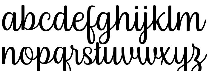 Byby Font Litere mici