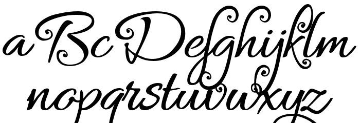 Bykars Demo Schriftart Groß