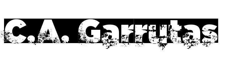 C.A. Garrutas  Скачать бесплатные шрифты