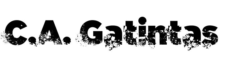 C.A. Gatintas  Скачать бесплатные шрифты