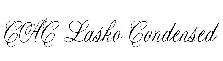 CAC Lasko Condensed  नि: शुल्क फ़ॉन्ट्स डाउनलोड