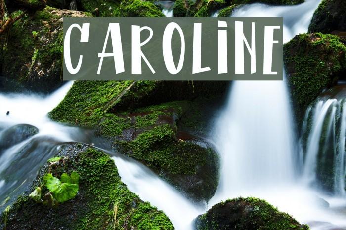 CAROLINE لخطوط تنزيل examples