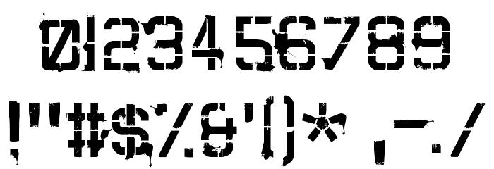 CARTAZ Font OTHER CHARS