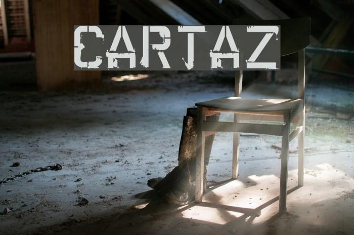 CARTAZ Font examples