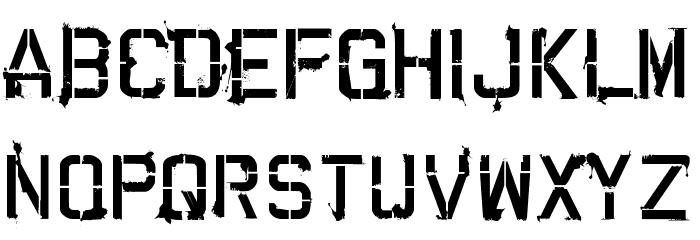 CARTAZ Font LOWERCASE