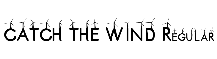 CATCH THE WIND Regular  Free Fonts Download