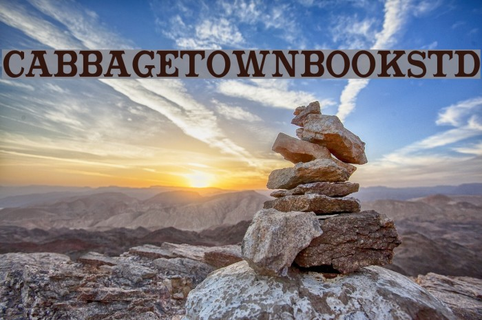 CabbagetownBookStd Fuentes examples