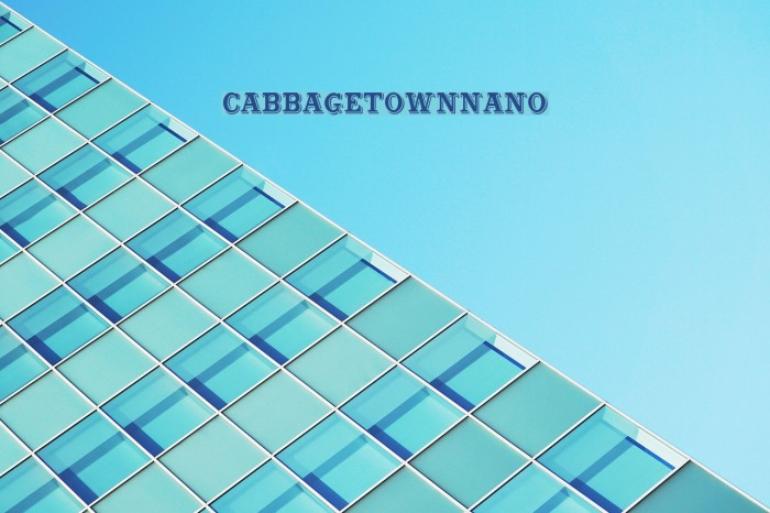 CabbagetownNano Font examples