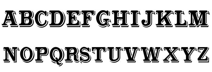 CabbagetownStd Schriftart Kleinbuchstaben
