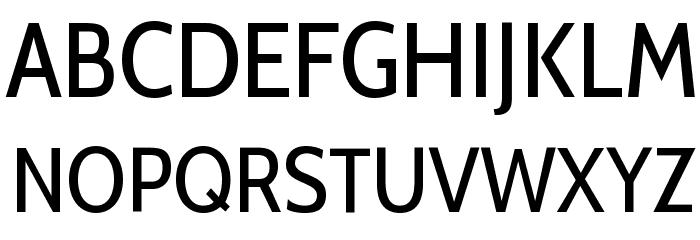 Cabin Condensed Font UPPERCASE