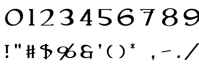 Caeldera Font OTHER CHARS
