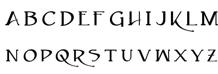 Caeldera Font LOWERCASE