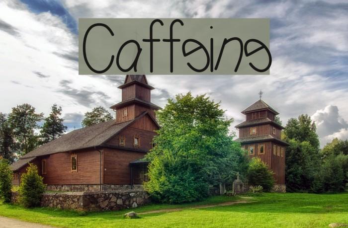 Caffeine Fonte examples
