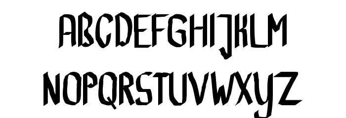 CalliBrush Font UPPERCASE