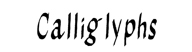 Calliglyphs  Free Fonts Download