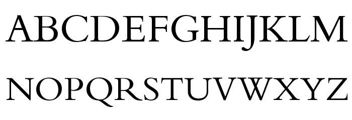 Calligraphy Fonte MAIÚSCULAS