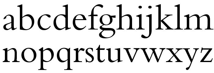 Calligraphy Fonte MINÚSCULAS