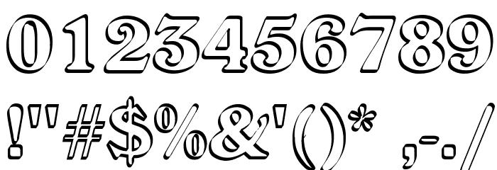 Callistroke Font OTHER CHARS