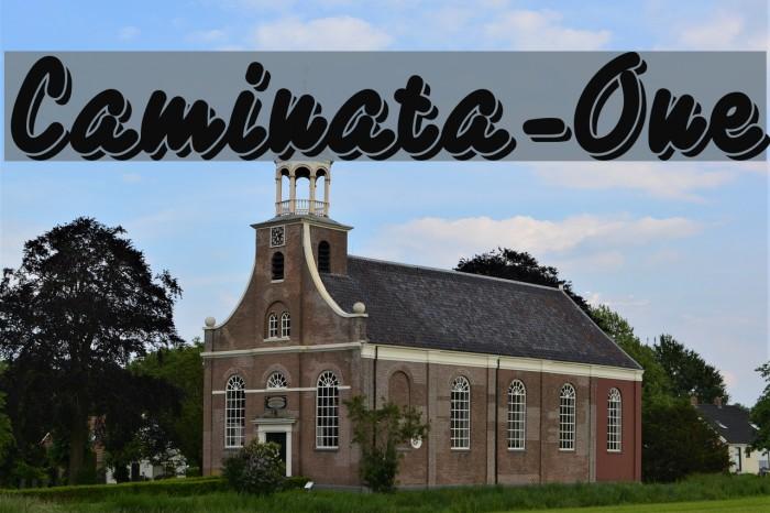 Caminata-One फ़ॉन्ट examples