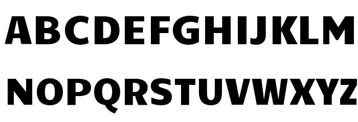 Candal Font UPPERCASE